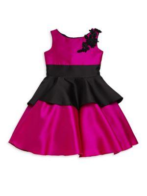 Girl's Peplum Dress