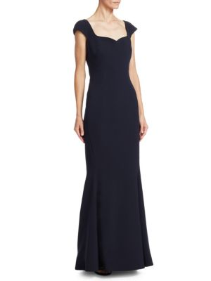Bonded Crepe Sweetheart Gown
