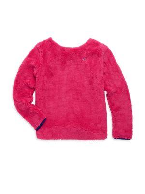 Toddler's, Little, Girl's & Girl's Fuzzy Sweatshirt