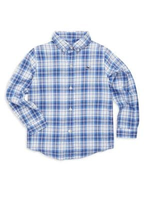 Toddler's, Little Boy's & Boy's Shoretown Plaid Shirt