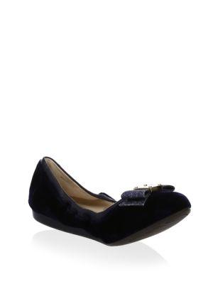 Tali Velvet Ballet Flats