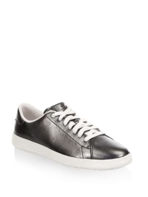 Grandpro Tennis Leather Low Top Sneakers