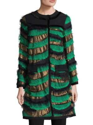 Silk Fringe Jacket