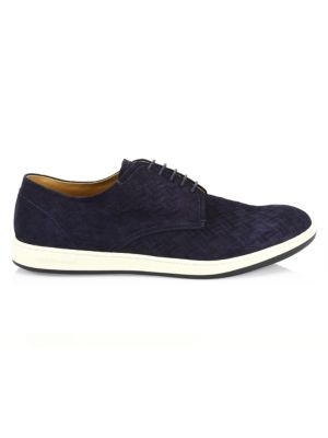 Giorgio Armani Napier Textured Derby Shoe Buy Cheap Really OYnFvA225l