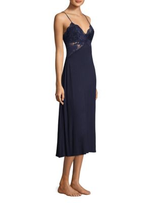 Lace V-Neck Nightgown