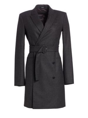 Wool Double-Breasted Blazer Dress
