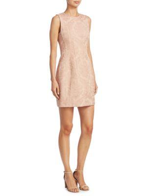 Hourglass Jacquard Dress