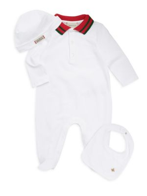 Baby Boy's Polo Footie