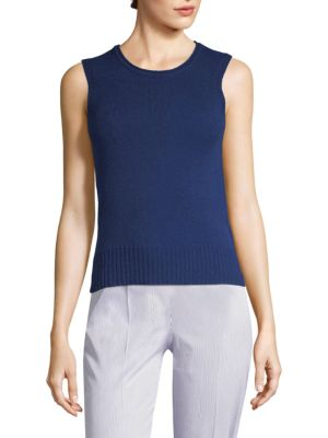 Cashmere Knit Tank Top