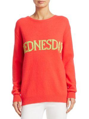 Wednesday Intarsia Sweater