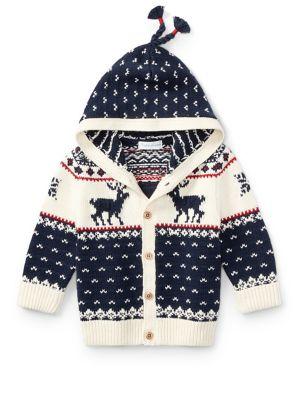 Baby's Reindeer Cardigan