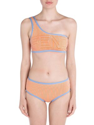 One-Shoulder Two-Piece Bikini Set