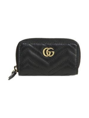 Marmont Leather Key Case