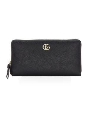 Marmont Leather Zip-Around Wallet