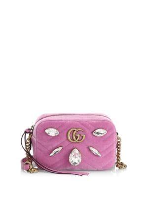 Marmont Velvet Shoulder Bag