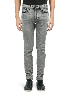 Snow Washed Skinny Jeans