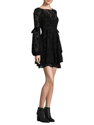 Ruby Lace Mini Dress
