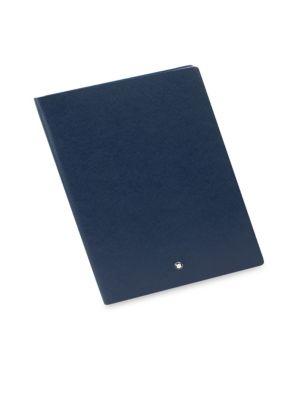 Montblanc Fine Stationery Notebook #146 Indigo, Blank