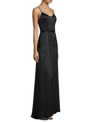 Shani Silk Leopard Maxi Dress