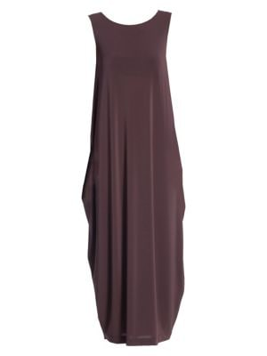 Drape Jersey Shift Dress
