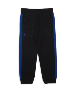 Toddler's, Little Boy's & Boy's Merino Wool Track Pants