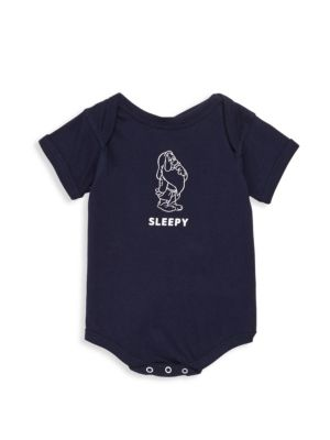Baby's Snow White Sleepy Cotton One Piece