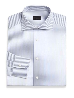Multi Stripe Dress Shirt