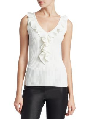 COLLECTION Ruffle Tank Top