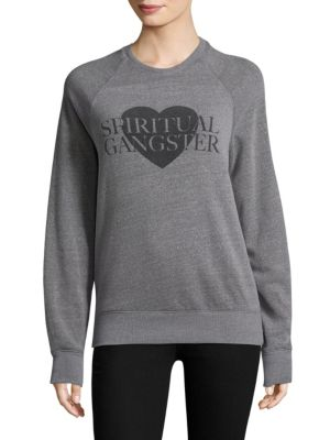 Spiritual Gangster Graphic Sweatshirt
