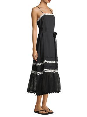 Cotton Lace Maxi Dress