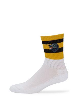 Gowall Striped Crew Socks