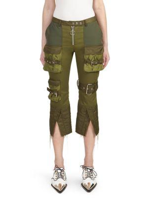 Patchwork Cargo Pants