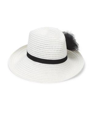 Dita Asymmetrical Bow Straw Hat