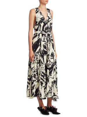 Proenza Schouler Sleeveless Silk Maxi Dress Outlet Factory Outlet Affordable Cheap Online 4UoqS