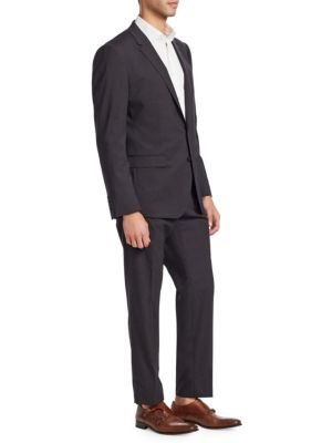 Regular Fit Wool Two-Button Suit