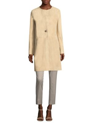 Francine Relaxed Suede Jacket