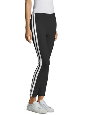 Simone Slim-Fit Side Stripe Pants