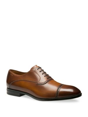 Lamior Cap Toe Leather Dress Shoes