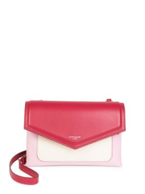 Duetto Leather Crossbody Bag