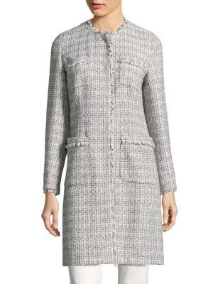 Vicini Four Pocket Tweed Coat by Weekend Max Mara