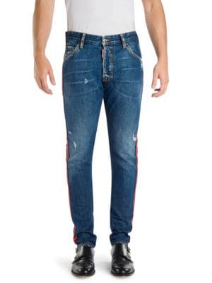 Classic Kenny Slim-Fit Distressed Jeans