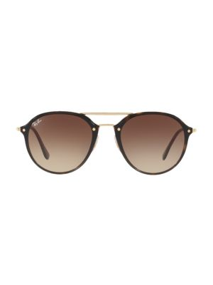 Iconic Round Aviator Sunglasses