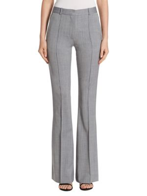 Piped Flare Trouser