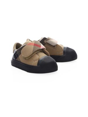 Baby's Beech Cotton Canvas Sneakers