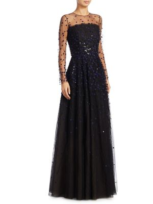Sandrine Sequin Gown