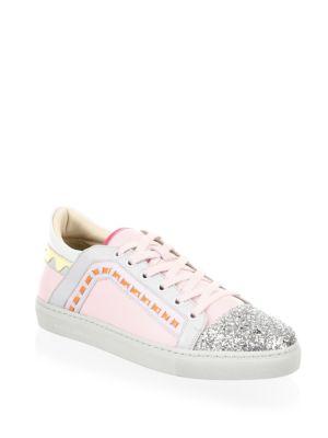 Riko Low Top Leather Sneakers