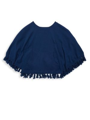 Little Girl's & Girl's Hani Cotton Poncho
