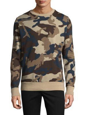 Miles Camouflage Cotton Sweatshirt