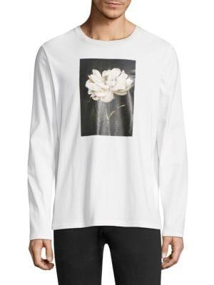 Floral Photograph Sweatshirt
