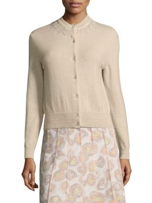 Marc Jacobs Embellished Cashmere Cardigan Shop Your Own Clearance Exclusive vtk9Dz8cDD